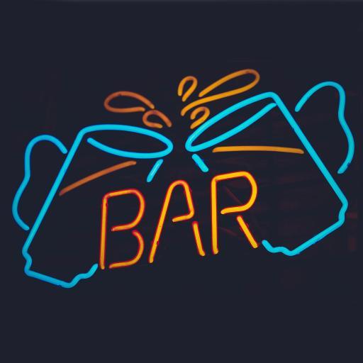 bar 酒吧 夜晚 灯光
