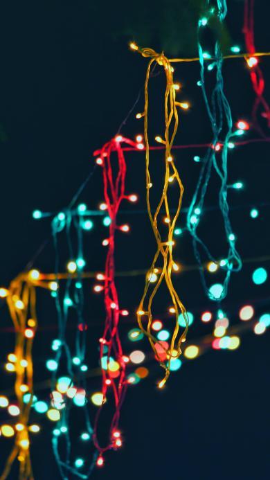 灯珠 串灯 发光 色彩