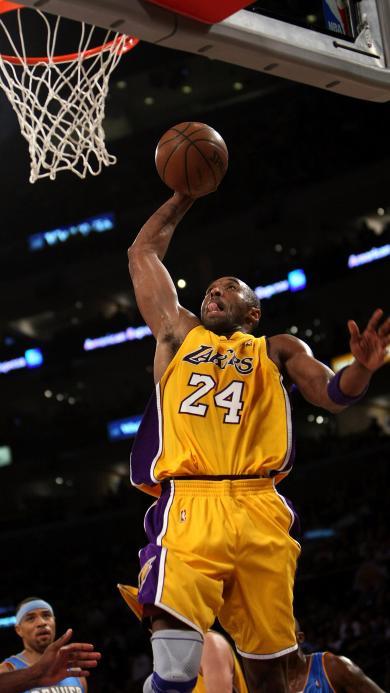 科比 篮球 投篮 球场 运动 球星 扣篮