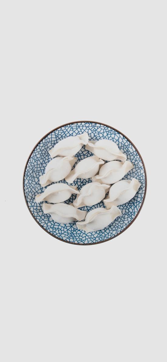冬至 饺子 面食 盘子