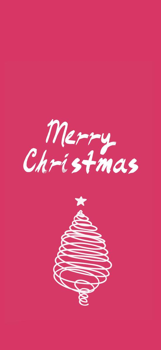 圣诞树 创意 简笔画 MerryChristmas