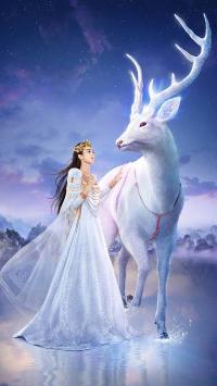 西游记女儿国 电影 封面 海报 赵丽颖 国王