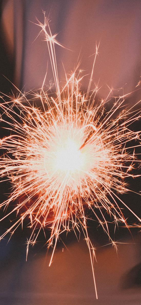 烟花棒 仙女棒 发光 星火 庆祝