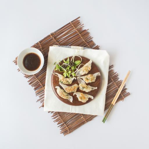 饺子 蘸料 筷子 简约
