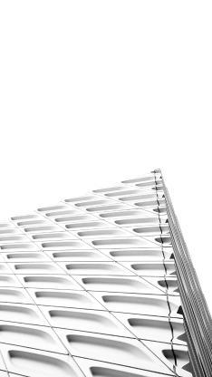 白色建筑 尖角 结构 线条