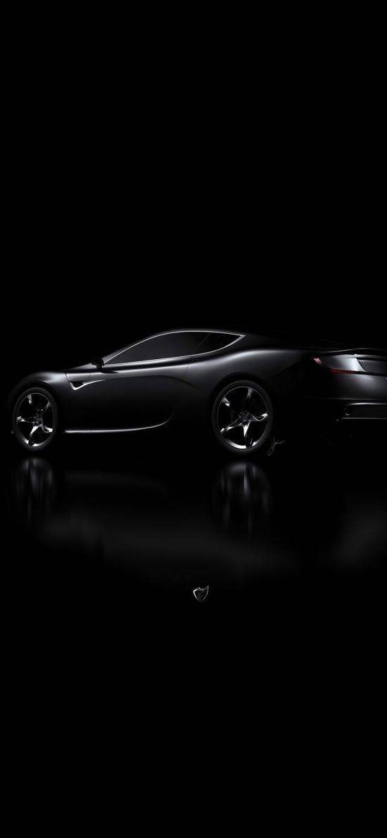 阿斯顿马丁 顶级 超级跑车 黑色 速度 炫酷