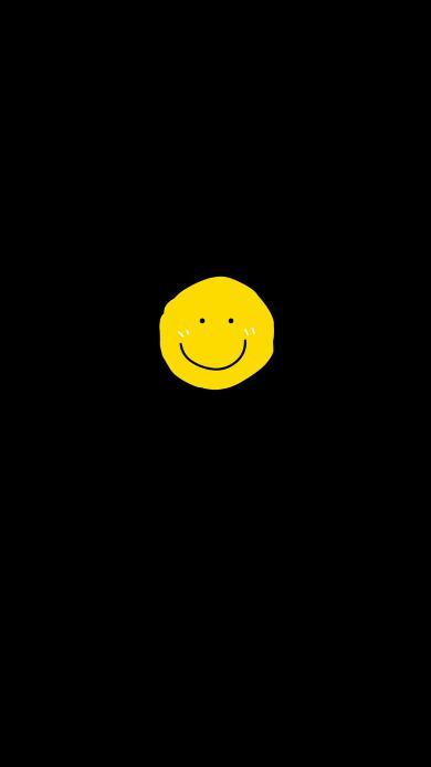 笑脸 黑色 表情