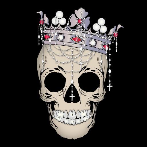 骷髅头 皇冠 创意