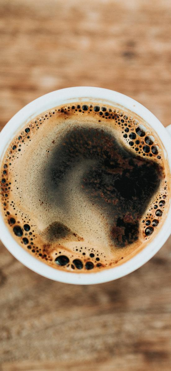 咖啡 杯子 泡沫 浓郁