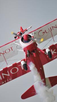 双翼 滑翔机 色彩 飞翔 高空