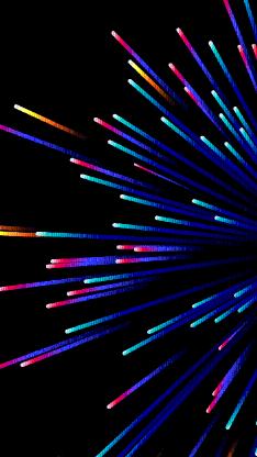 发散 抽象 线 空间