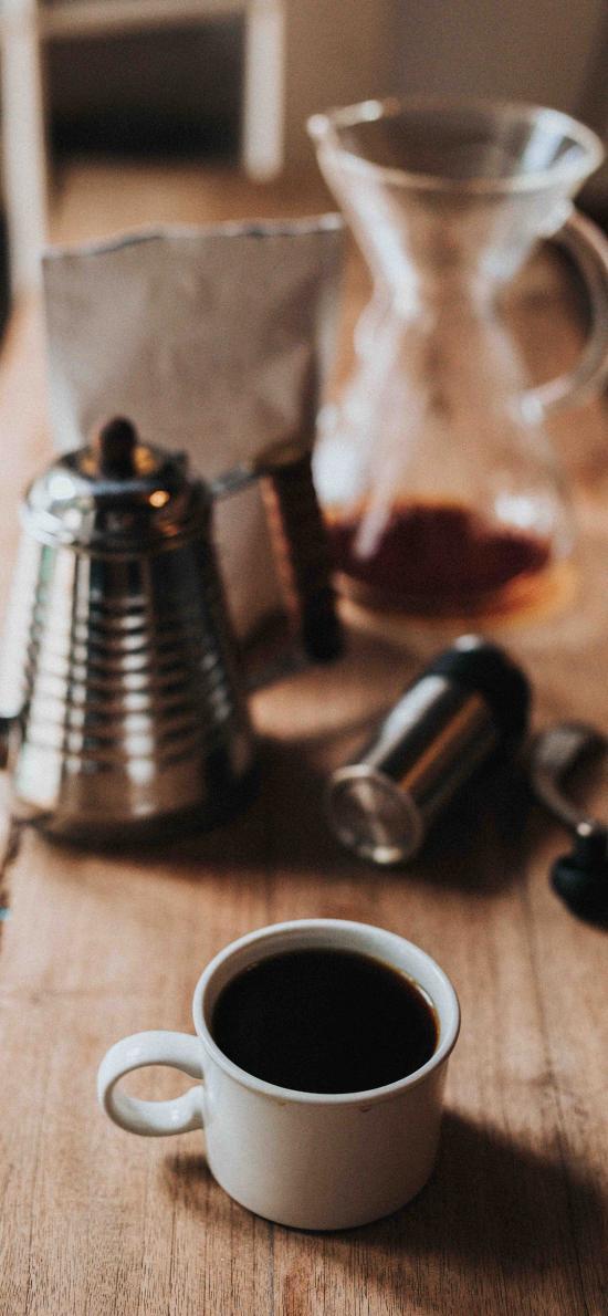 咖啡 咖啡壶 黑咖啡 提神