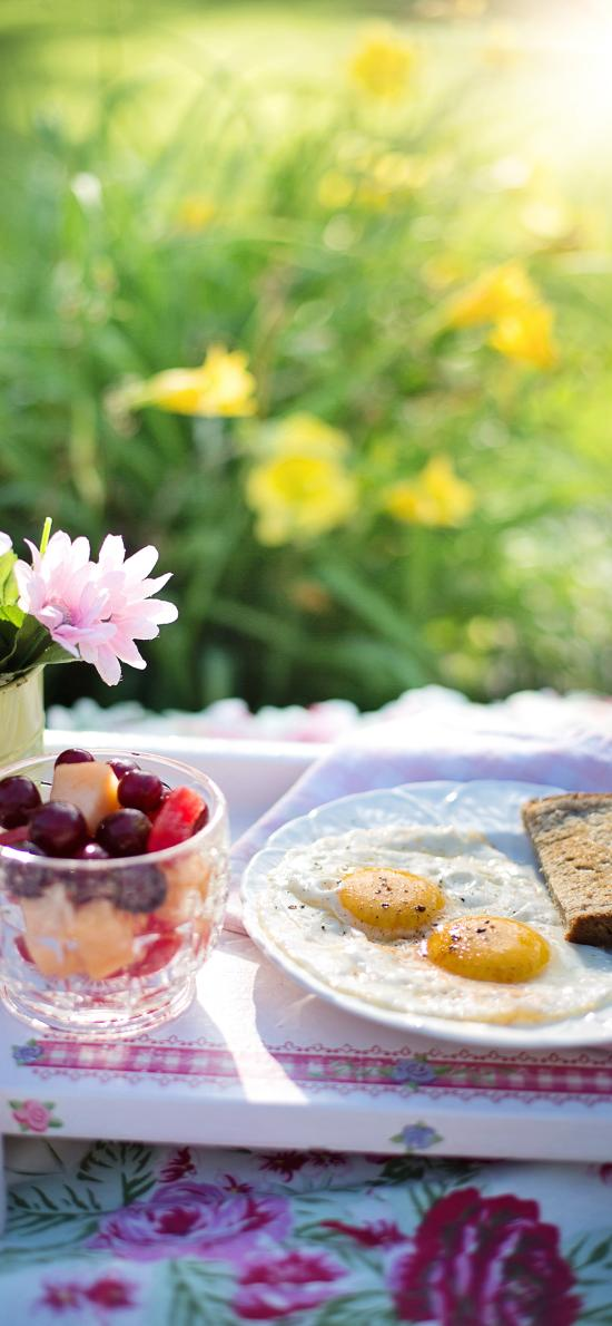 营养 水果 鸡蛋 面包
