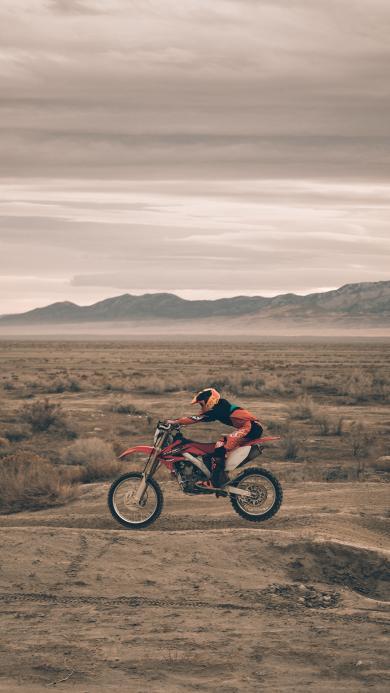 竞技 赛车 摩托车 荒芜