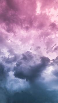 天空 渐变 云彩 唯美