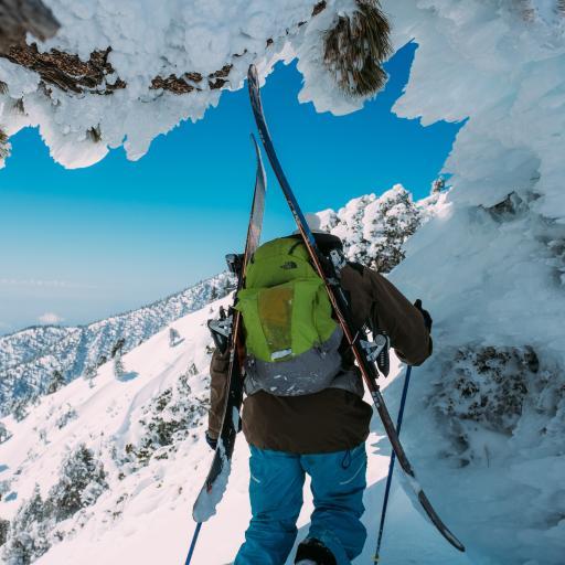登山 雪山 攀登 运动