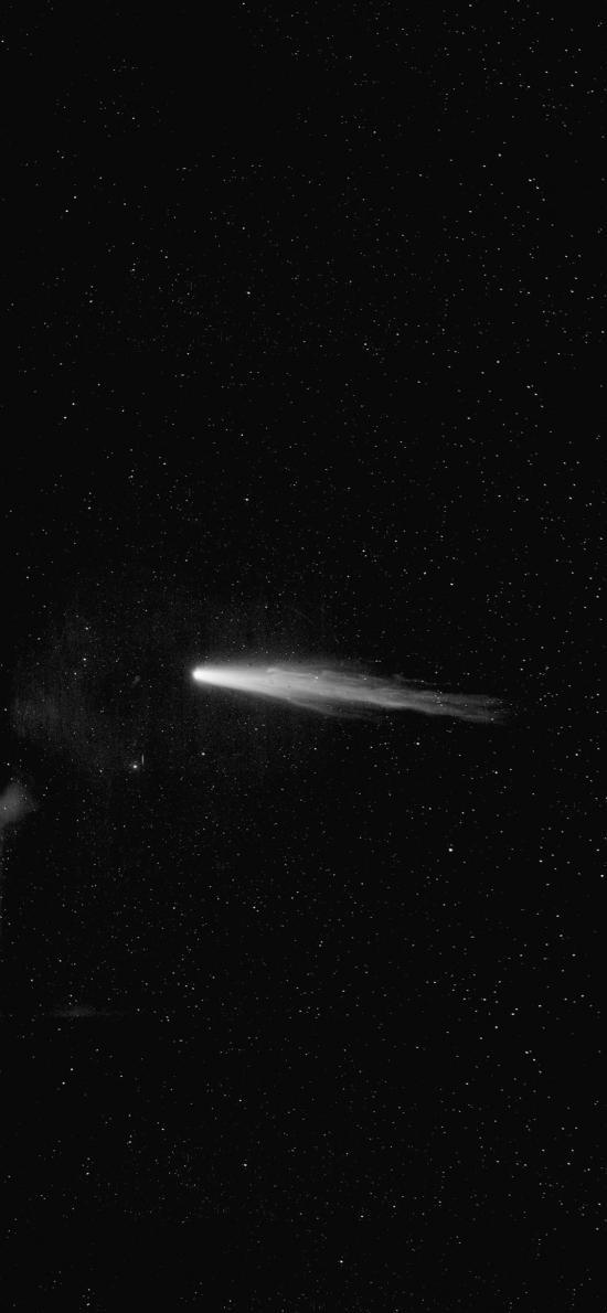 彗星 星空 宇宙 太空 黑色