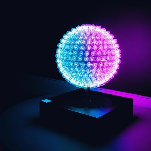 夜灯 球状 照明 装饰