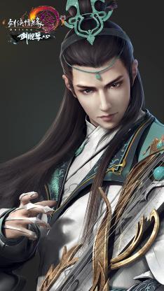剑网3  原画 古风 角色 长歌门
