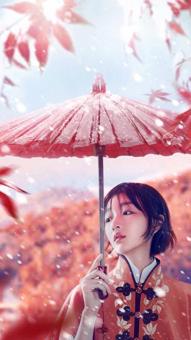 周冬雨 红伞  艺人 演员