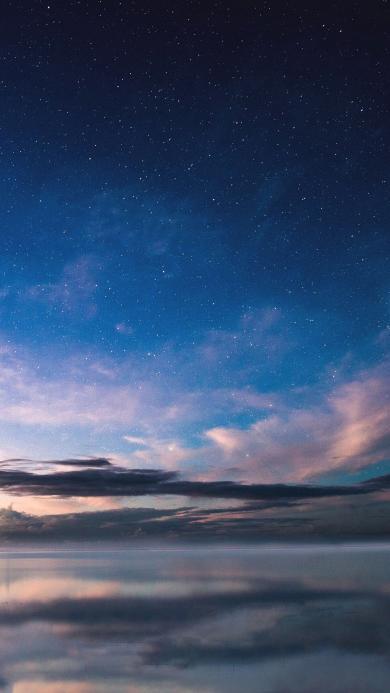 星空 云 天空 唯美