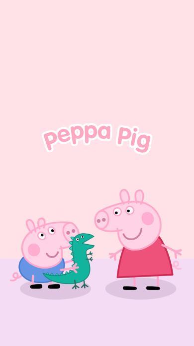 小猪佩奇 粉色 卡通 动画 可爱