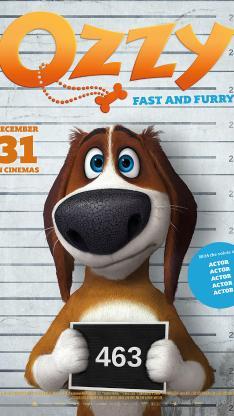 狗狗的疯狂假期 动画 电影 海报