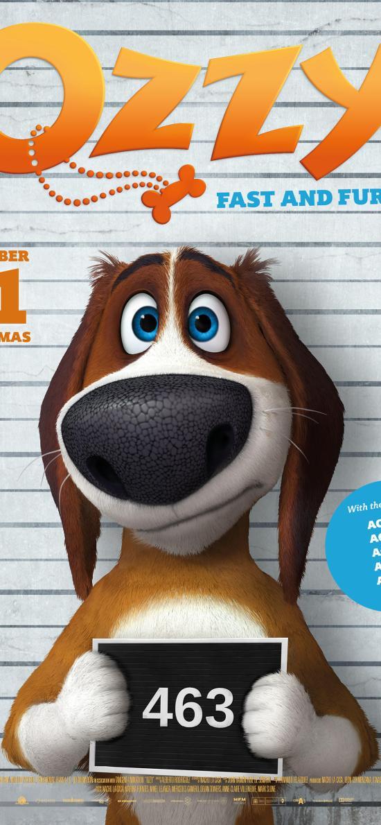 狗狗的瘋狂假期 動畫 電影 海報