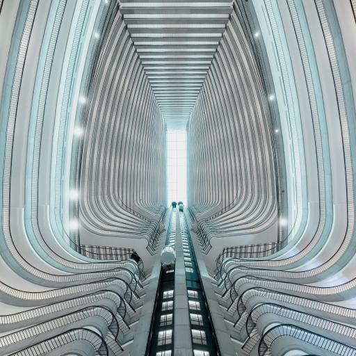 创意 建筑 设计 层叠