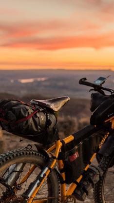 自行车 单车 骑行 山地 行驶