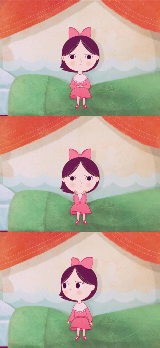 动画片 海洋之歌 儿童 小女孩
