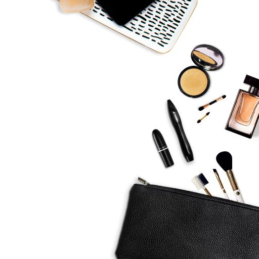 化妆品 口红 香水 化妆工具 妆容