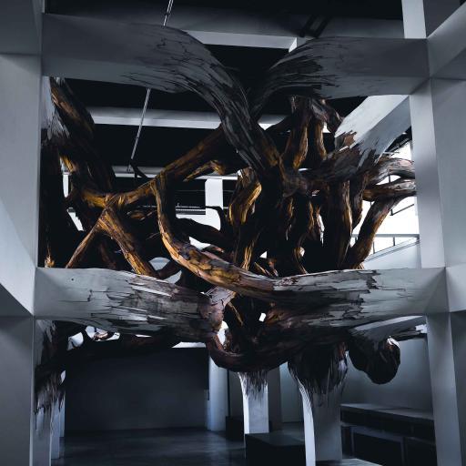 空间 木雕 装饰 艺术 创意