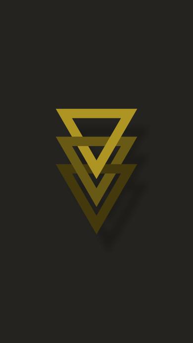 三角形 几何 排列 简约