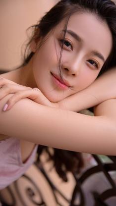 甜美女孩 写真 漂亮
