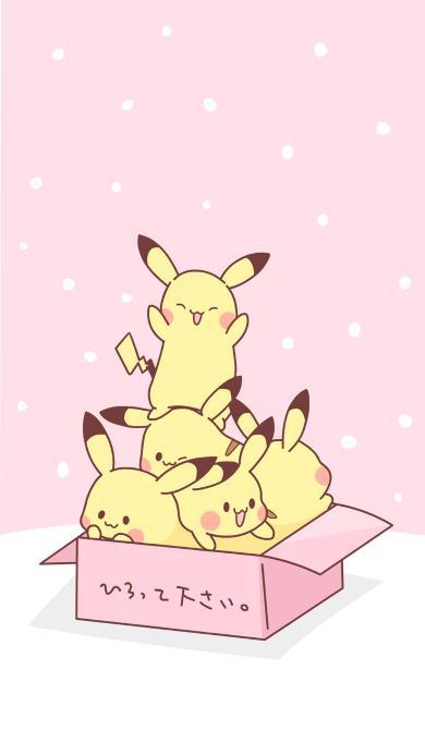 皮卡丘 动画 卡通 日本 可爱 箱子