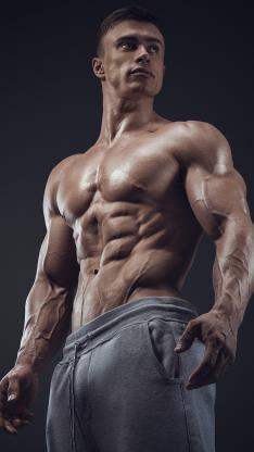 肌肉 健身 身材 腹肌 欧美 运动