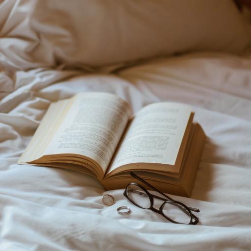 静物 书本 眼镜 阅读