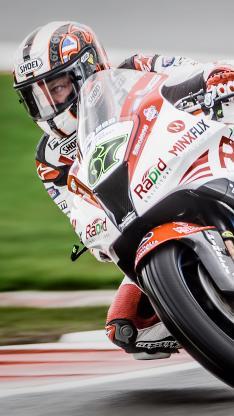 摩托车 竞赛 飘逸