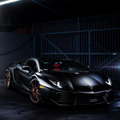 兰博基尼 炫酷 超级跑车 黑色