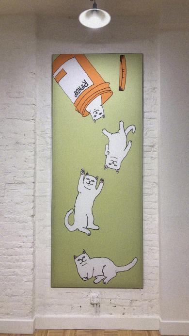 墙壁装饰 RipNDip 美国贱猫 品牌