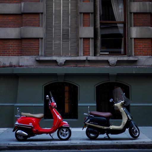 街道 摩托车 小绵羊 代步车