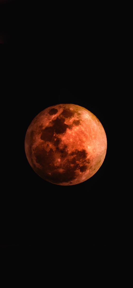 月球 红月 百年一见 特景