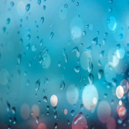 水滴 渐变 玻璃 雨水