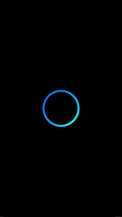 圆环 简约 蓝 黑