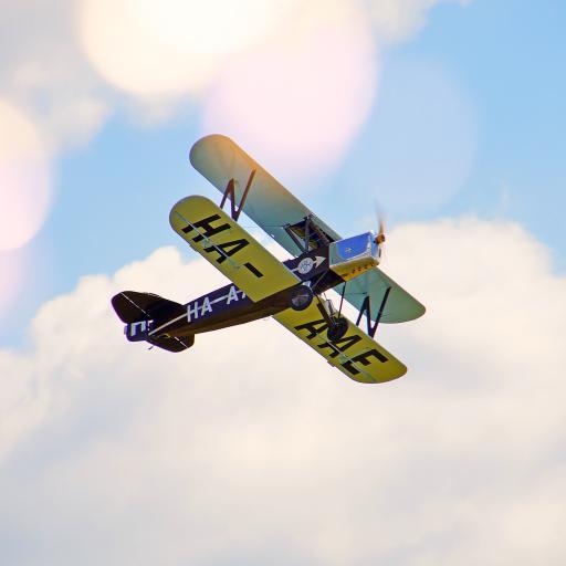 飞机 航空  飞行 蓝天白云