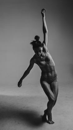 舞者 腹肌 健美 健身