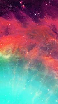 太空 渐变 梦幻 银河 星空