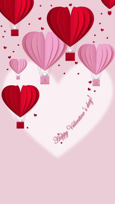 情人节 浪漫 爱情 粉色 心形 爱心