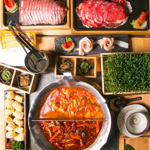 火锅 食材 美味 川菜